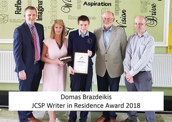 JCSP SCC Writer in Residence