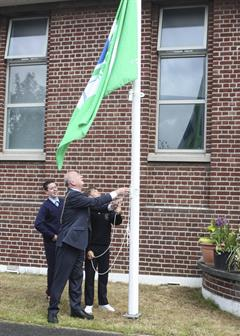 Cabra CC raises our Second Green Flag